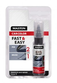 Paint CarColor Touch-up 12ml 120010 Clearcoat Metallic