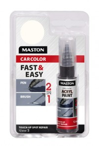 Paint CarColor Touch-up 12ml 121015 White