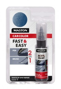 Maali CarColor Touch-up 12ml 125010 Blue metallic