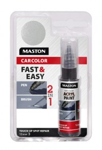 Maali CarColor Touch-up 12ml 127015 Silver metallic