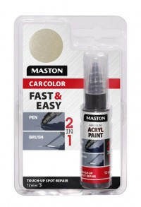 Maali CarColor Touch-up 12ml 127030 Silver metallic
