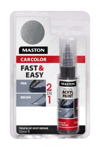 Paint CarColor Touch-up 12ml 127035 Silver metallic