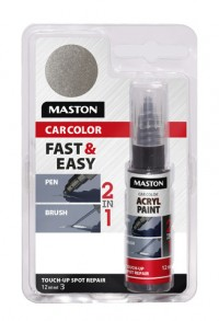 Paint CarColor Touch-up 12ml 127040 Silver metallic