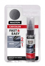 Paint CarColor Touch-up 12ml 128010 Black metallic