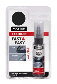 Maali CarColor Touch-up 12ml 128055 Black Matt