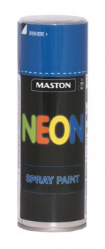 Spraypaint NEON Blue 400ml