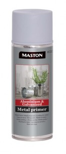 Spray Aluminium & Galvanized Metal Primer 400ml