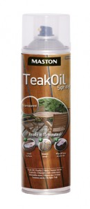 Teak Oil spray 500ml Transparent