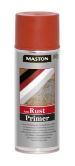 Spraypaint Rust-primer red 400ml