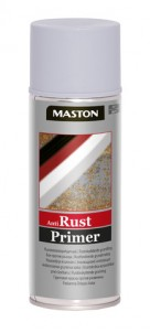 Spraymaali Anti Rust-primer harmaa 400ml