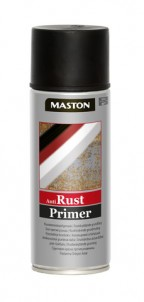 Spraypaint Rust-primer black 400ml