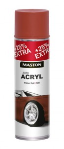 Spraypaint AutoACRYL Red Primer 500ml