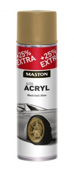 Spraypaint AutoACRYL Gold Wheel 500ml