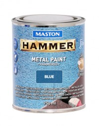 Paint Hammer Hammered Blue 750ml