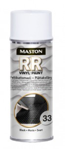 Spraymaali RR 33 musta 400ml