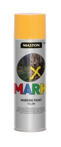 Markingspray Mark yellow 500ml