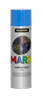 Markingspray Mark blue 500ml
