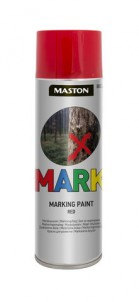 Markingspray Mark red 500ml