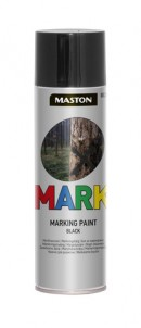 Markingspray Mark black 500ml