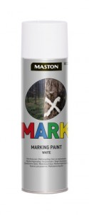 Markingspray Mark white 500ml