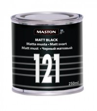 Paint Matt black 250ml