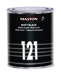 Paint Matt black 1l