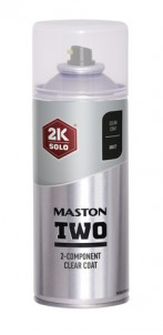 Spraymaali Maston 2K Two Lakka Matta 400ml