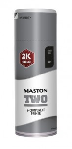 Sprayfärg Maston 2K Two Primer Grey 400ml