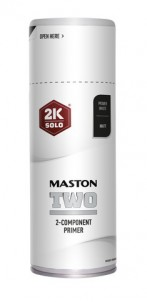 Sprayfärg Maston 2K Two Primer Vit 400ml