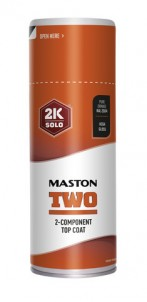 Sprayfärg Maston 2K Two Pure Orange RAL2004 400ml