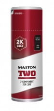 Spraymaali Maston 2K Two Tulenpunainen RAL3000 400ml