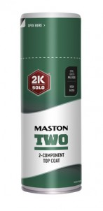 Sprayfärg Maston 2K Two Opal Green RAL6026 400ml