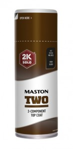 Spraymaali Maston 2K Two  Pähkinänruskea RAL8011 400ml