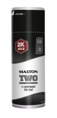 Spraymaali Maston 2K Two Syvänmusta RAL9005 400ml