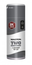Spraymaali Maston 2K Two Harmaa Alumiini RAL9007 400ml