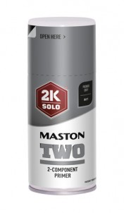 Sprayfärg Maston 2K Two Primer Grey 150ml