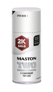 Sprayfärg Maston 2K Two Pure White RAL9010 150ml