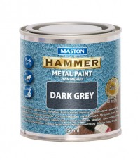 Paint Hammer Hammered Dark Grey 250ml