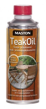 Teak Oil 450ml Transparent