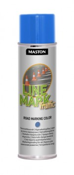 Spraymaali Linemark Traffic sininen 585ml