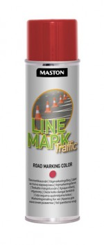 Spraymaali Linemark Traffic punainen 585ml
