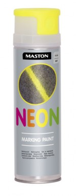 Markingspray NEON Yellow 500ml