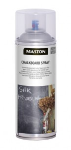 Spraypaint Chalkboard black 400ml