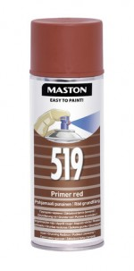 Spraypaint 100 Red primer 519 400ml