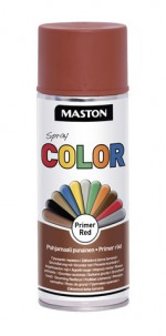 Spraypaint Color Red primer 400ml
