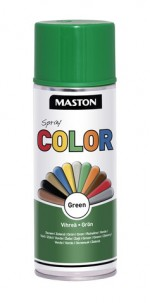 Spraypaint Color Green Gloss 400ml