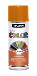 Spraypaint Color Orange Gloss 400ml