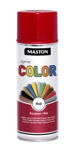 Spraypaint Color Red Gloss 400ml