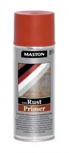 Spraymaali Anti Rust-primer punaruskea 400ml