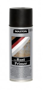 Sprayfärg Rust-primer svart 400ml